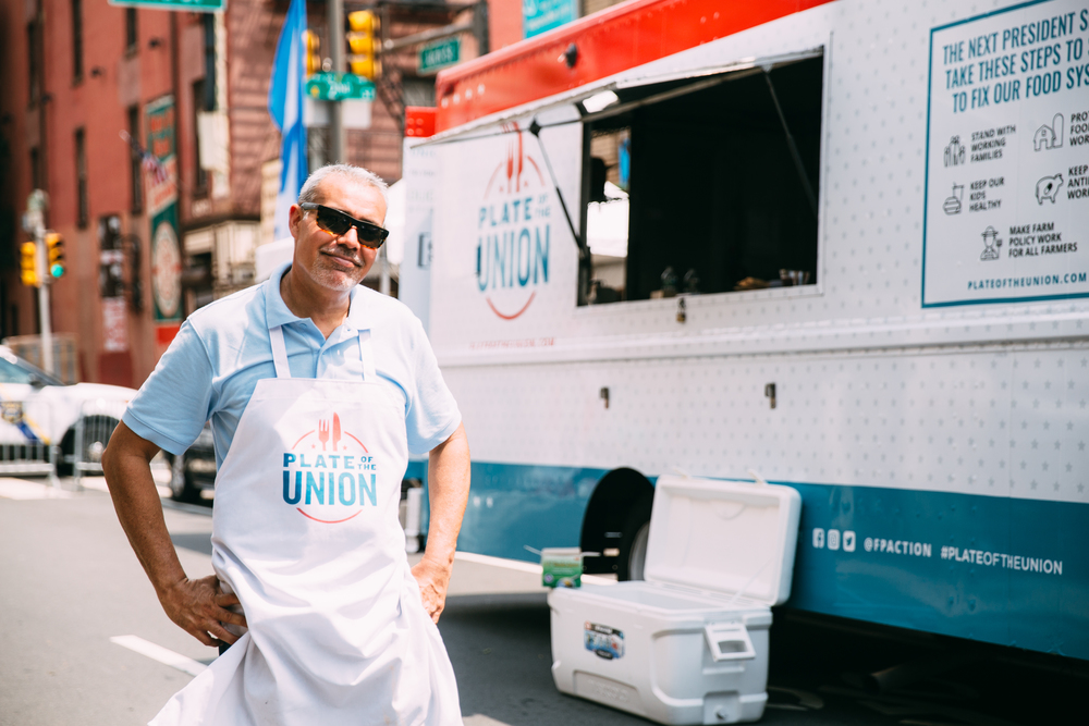 Plate of the Union food truck