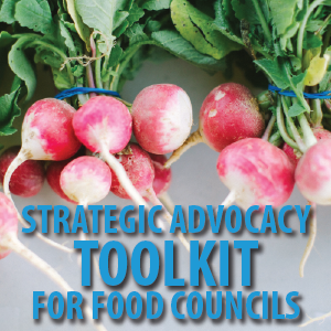 This online toolkit is meant to support food councils, community groups and individuals in the Carolinas in being strategic when engaging in advocacy efforts.