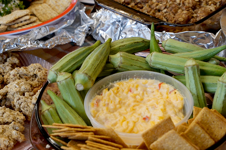 Changing organizational policies to provide healthy snacks at meetings and events is an example of little 'p' policy.