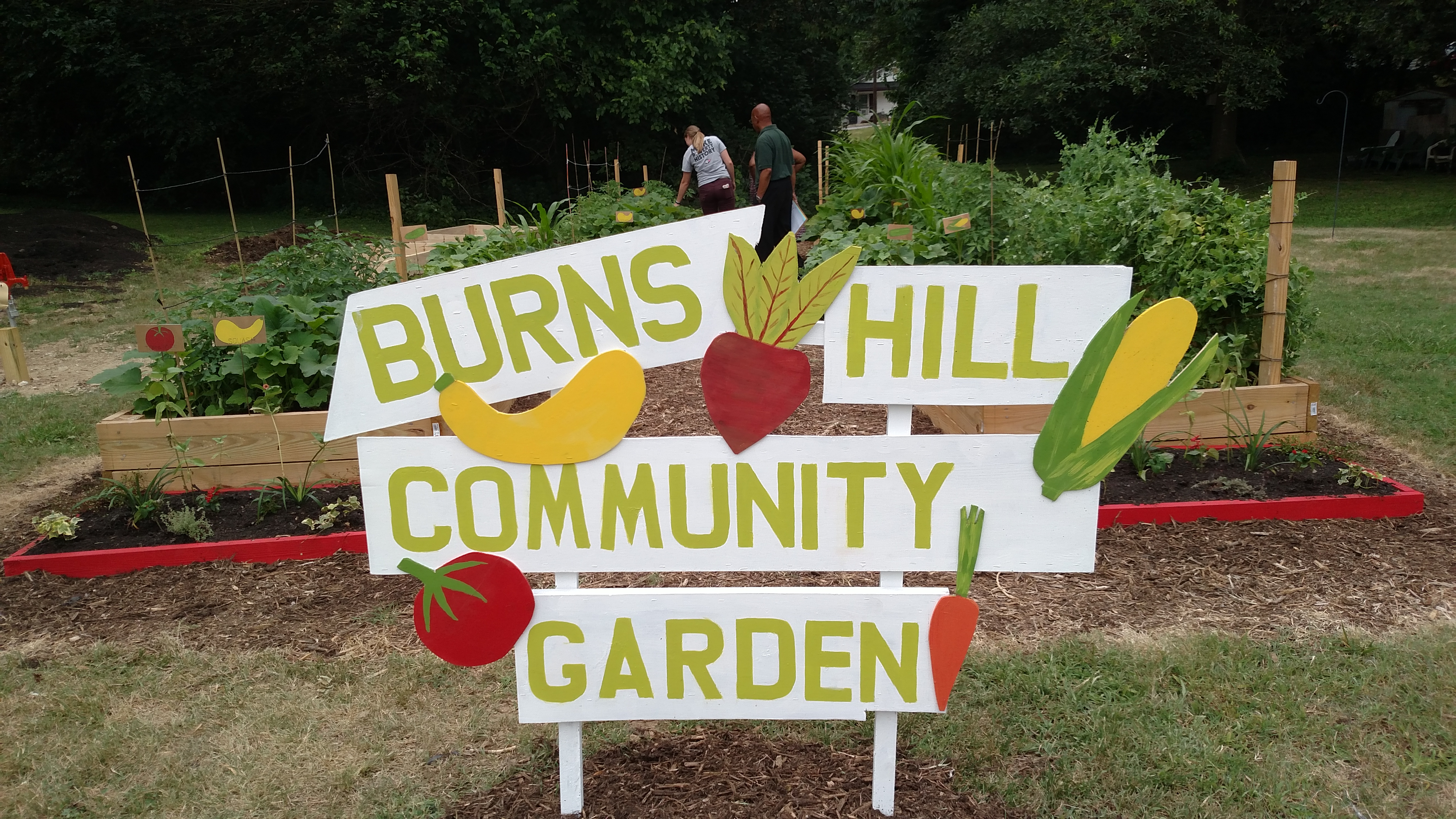 GHPFA has worked extensively to develop and provide resources to many community gardens across High Point.  They even successfully established a full-time Community Garden Coordinator under Cooperative Extension.