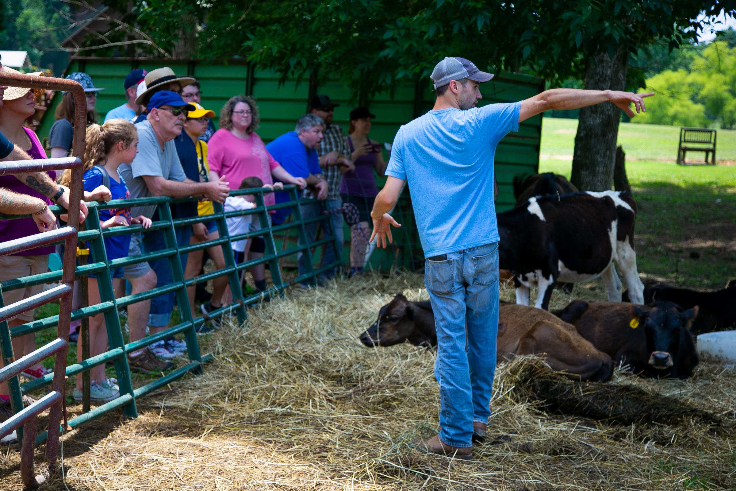 Davidson farm tour 1