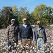 Julius is a farmer and entrepreneur at Black Cotton in North Hampton County, North Carolina.