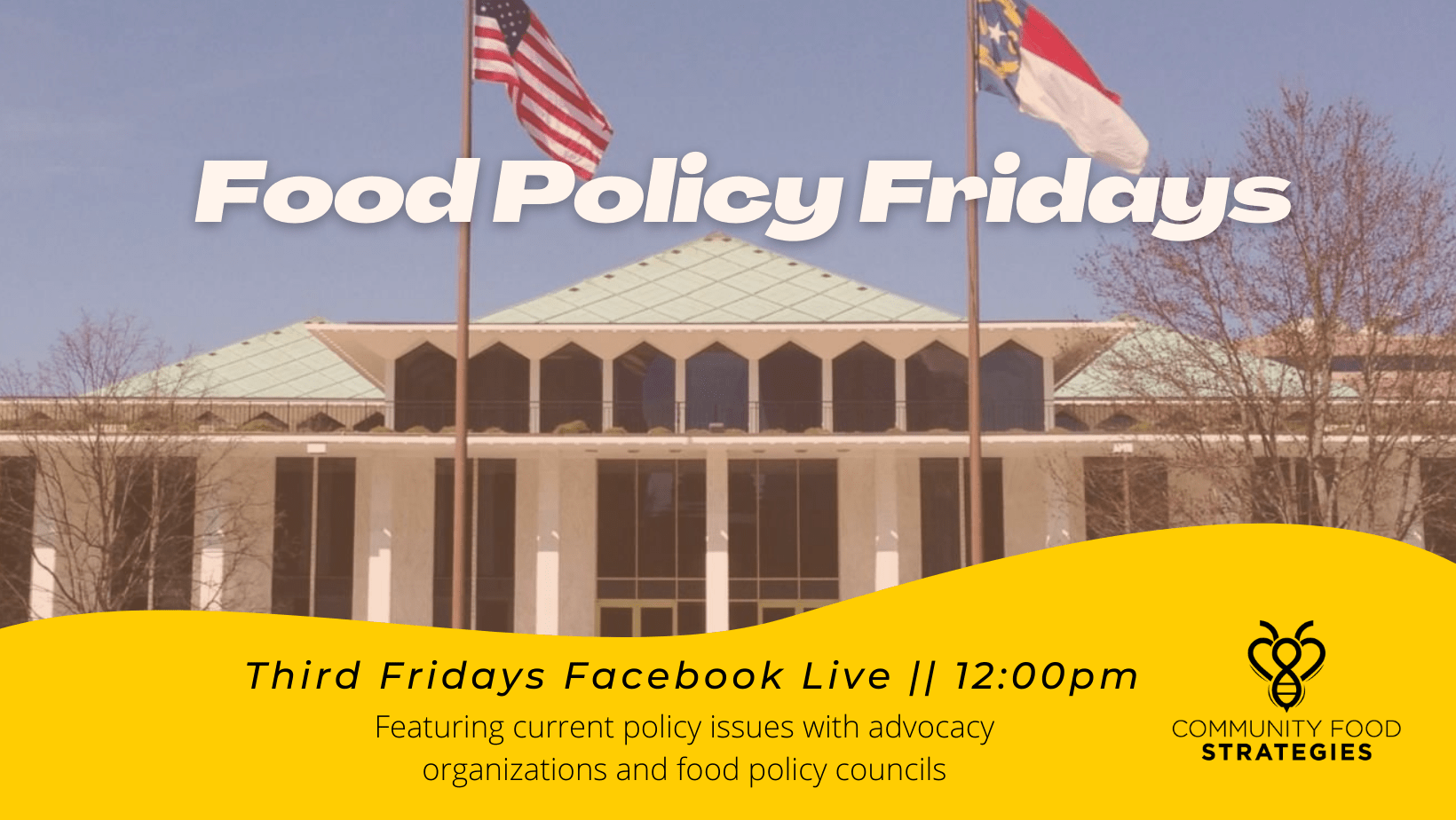 Food Policy Fridays on Facebook Live